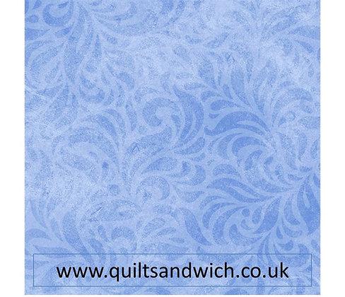 P & B Bella Suede blue per qtr metre
