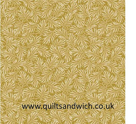 Antique Gold-Boughs of Beauty by Benartex 108 inches  per qtr mtr