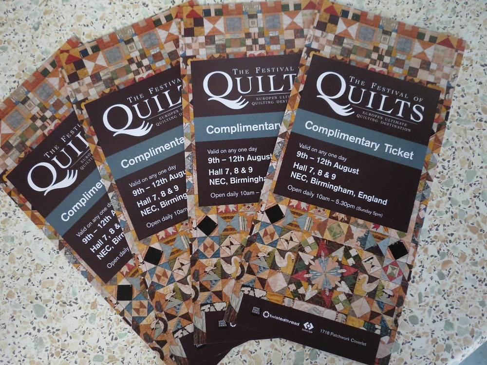 Free Festival of Quilts Tickets