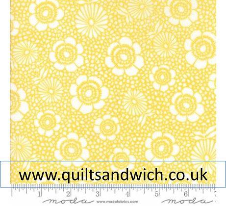Moda Harmony Yellow 108  inches x 2.75m