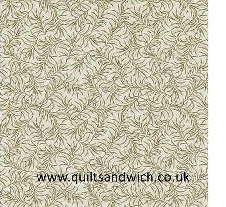 Taupe green-Boughs of Beauty by Benartex 108 inches  x 98 inches