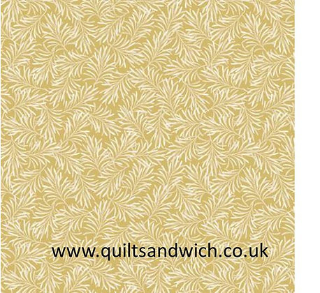 Golden Straw-Boughs of Beauty by Benartex 108 inches  per qtr mtr
