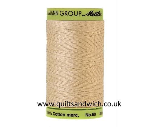 Mettler 800m0779 deep  cream Silk Finish Cotton 60 weight