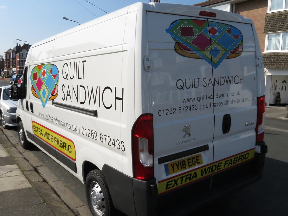 Quilt Sandwich on the Road