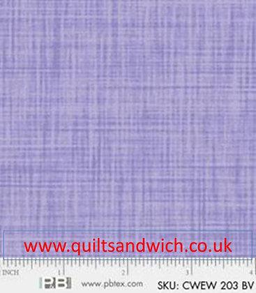 P & B Colour weave bv per qtr metre