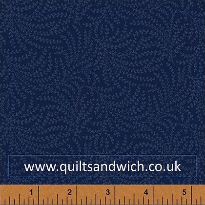 Windham Blue feather per qtr metre