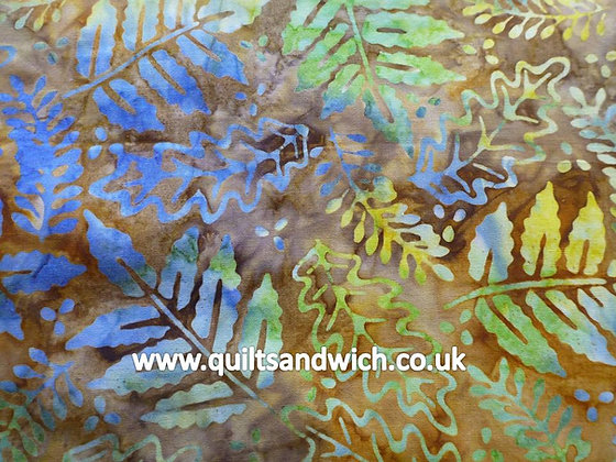 QS  Leaf Autumn   per quarter metre
