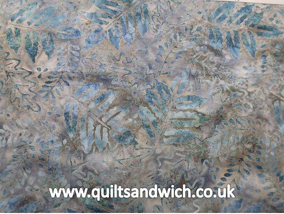 QS  Leaf Winter Ice  per quarter metre
