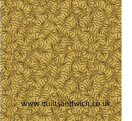 Golden Rod-Boughs of Beauty by Benartex 108 inches  per qtr mtr