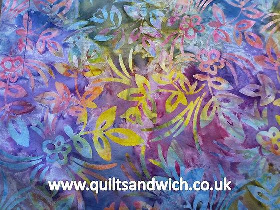 QS  Floral Multi per quarter metre