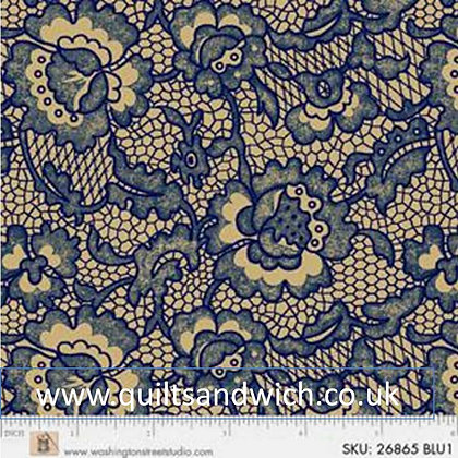 P & B King Quilts blue per qtr metre