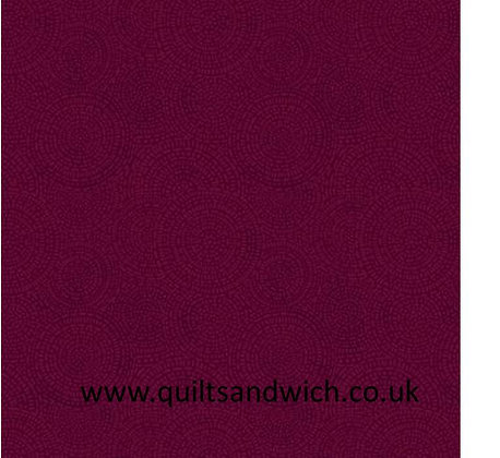 Medalion dark red 108 inches  per qtr mtr