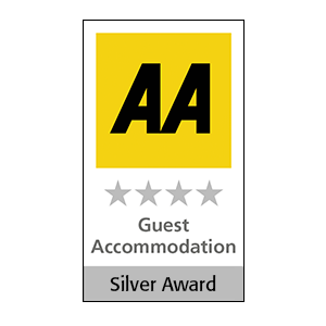 AA silver Award four star Guest Accommodation