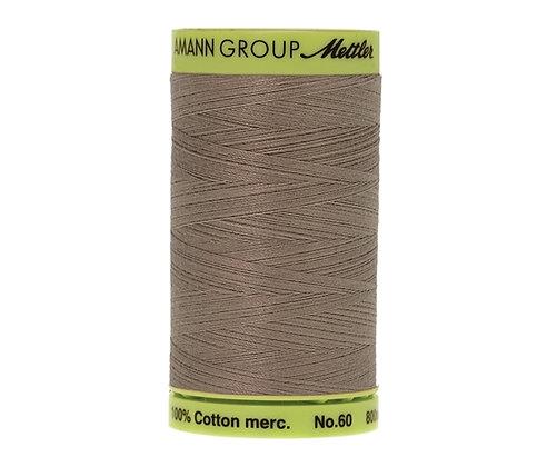 Mettler 800m 0322 pale grey Silk Finish Cotton 60 weight