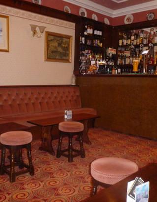 Bar area at The Royal Bridlington