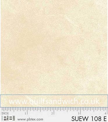 P &B Suede Cream per qtr metre
