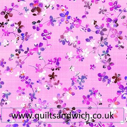 Watercolour Meadow 22  per qtr metre
