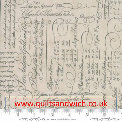 Moda Quill Natural 108 inches x 37 inches
