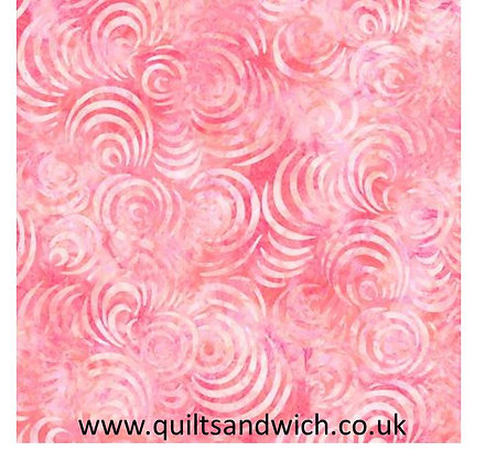 """Pink  Whirlpools per 108"""" x 93"""" one piece"""