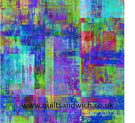 P & B Elements Blue purple 108 per qtr metre