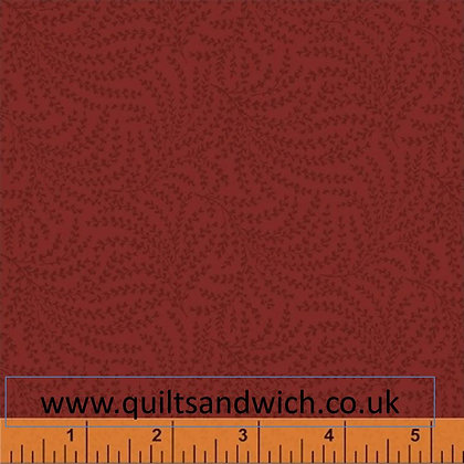 Windham red feather per qtr metre