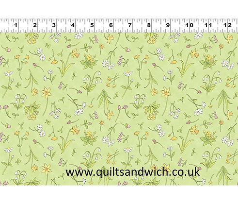 Guess How Much? Green Floral