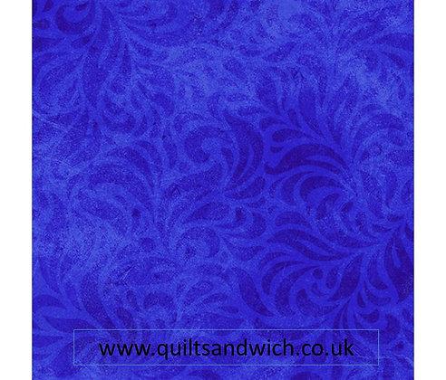P & B Bella Suede Royal Blue per qtr metre