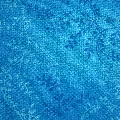 Cobalt Blue  Vineyard  - Per quarter Metre
