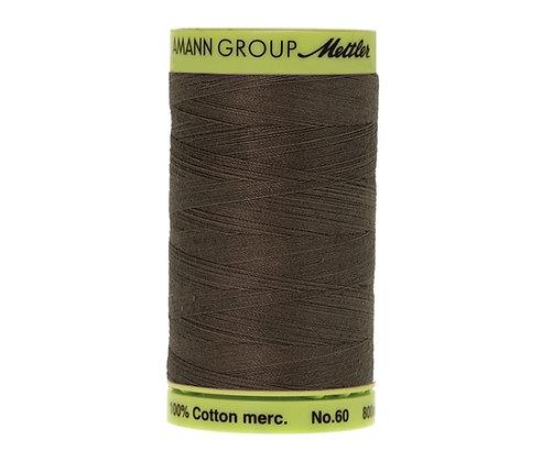 Mettler 800m 0416 dark grey grey Silk Finish Cotton 60 weight