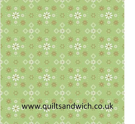 Bandana Green 108inches  per qtr metre