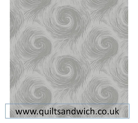 Henry Glass Breezy grey per qtr metre