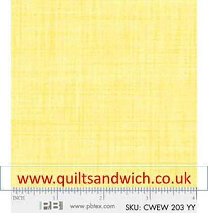 P & B Colour weave yy per qtr metre