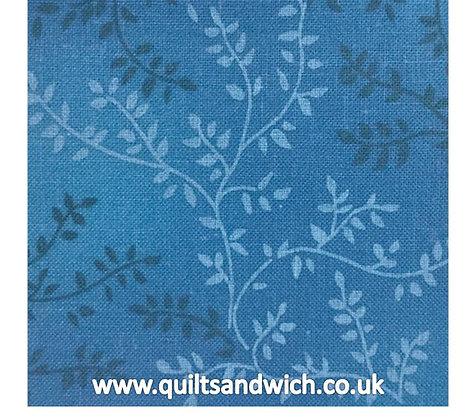 Azure Blue 204 Vineyard - Per quarter Metre