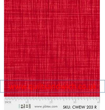 P & B Colour weave r per qtr metre