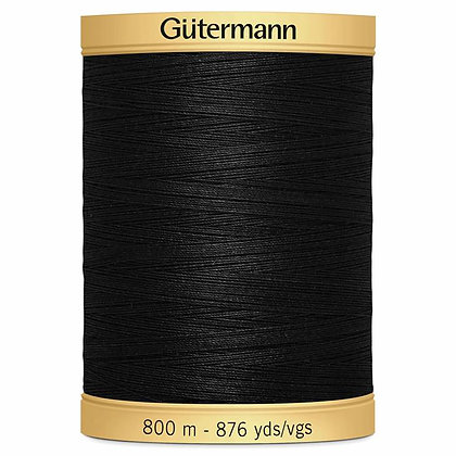 Guterman Cotton 800m  5201 Black