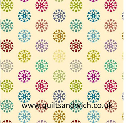 Galactic Venus  - 60 inches  wide  qtr metre