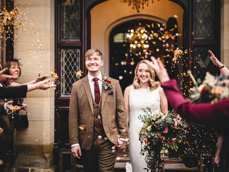 Tyn Dwr Hall Wedding Photography Sam & Michaela