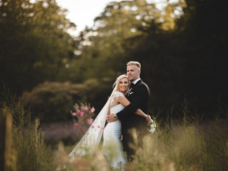 Marc and Charlotte's Swinton Park Wedding