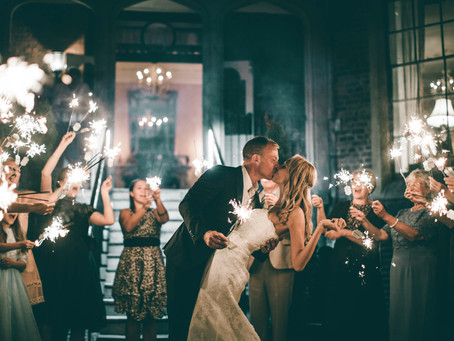 How to plan the perfect sparkler send off