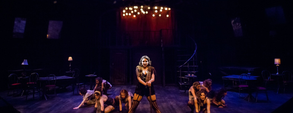 "Directed by Adam Karsten Choreographed by Karen Sieber​​ ​​  ""A Cabaret to offer a History Lesson as well as a Musical. Karsten's direction brings the feelings and emotions of this story to reflect such powerful relevance in today's society."" Broadway World dot com"