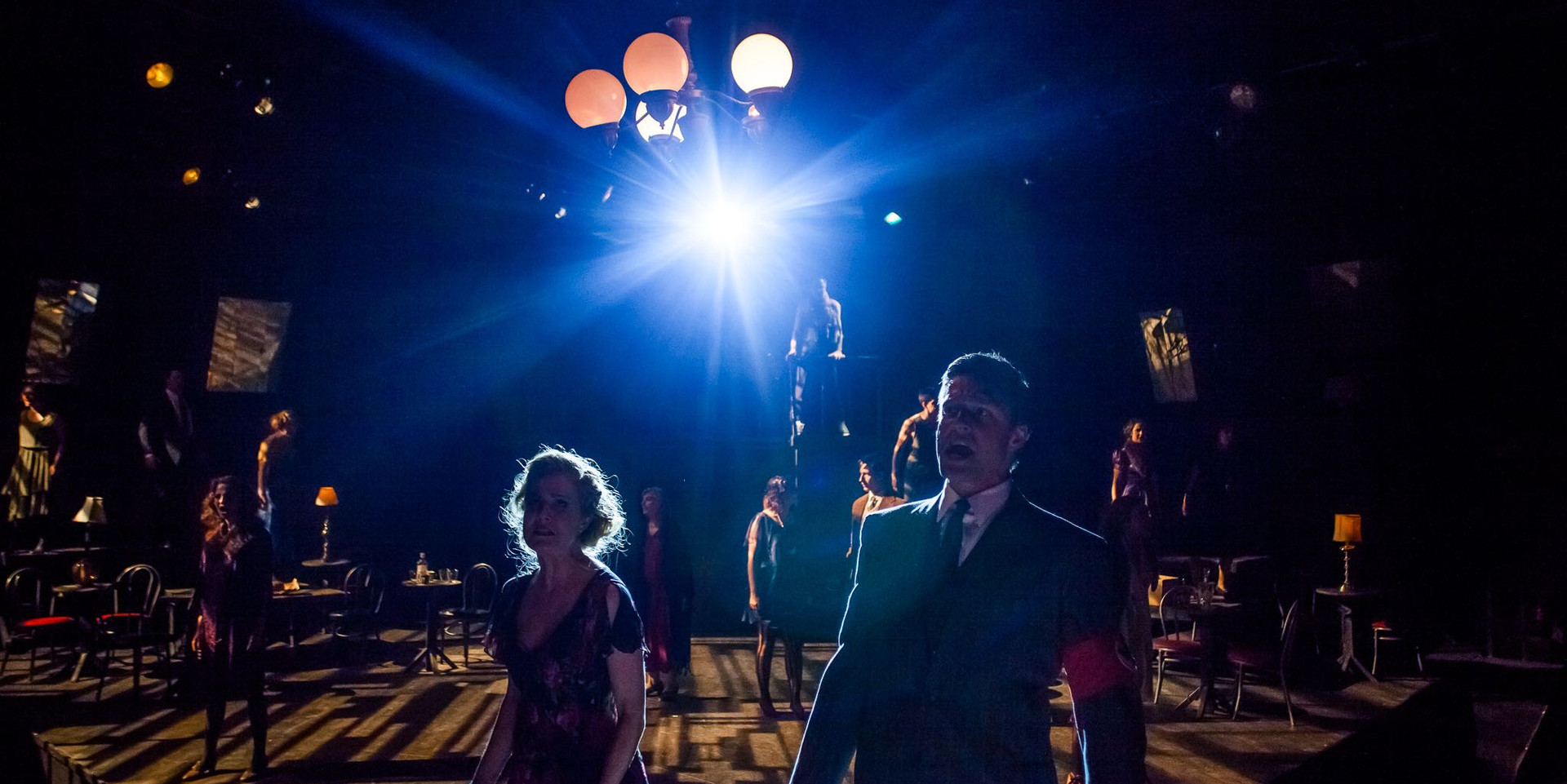 """Directed by Adam Karsten Choreographed by Karen Sieber   """"A Cabaret to offer a History Lesson as well as a Musical. Karsten's direction brings the feelings and emotions of this story to reflect such powerful relevance in today's society."""" Broadway World dot com"""