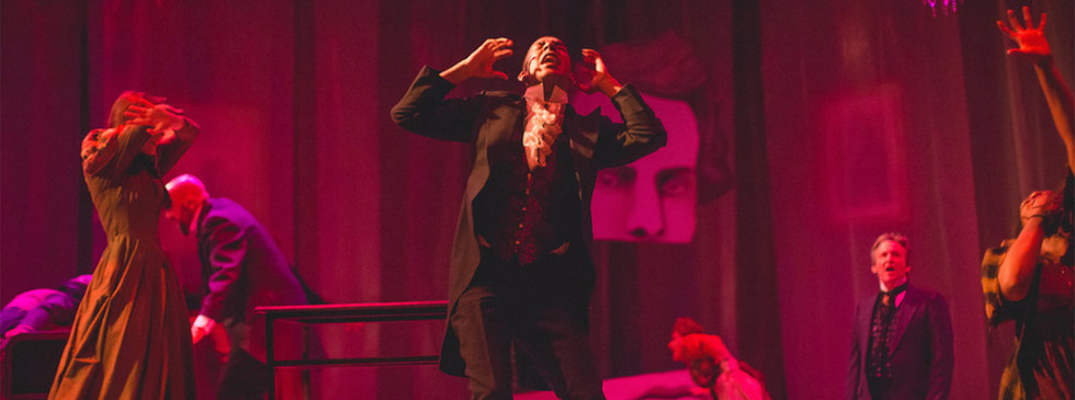 "Directed by Adam Karsten  Weathervane's Jekyll & Hyde Bloody Brilliant ""Masterfully directed and hauntingly choreographed by Adam Karsten, the two-act, at-times gory, production grabs the audience's attention early on and refuses to let it go.""  --Newark Advocate"