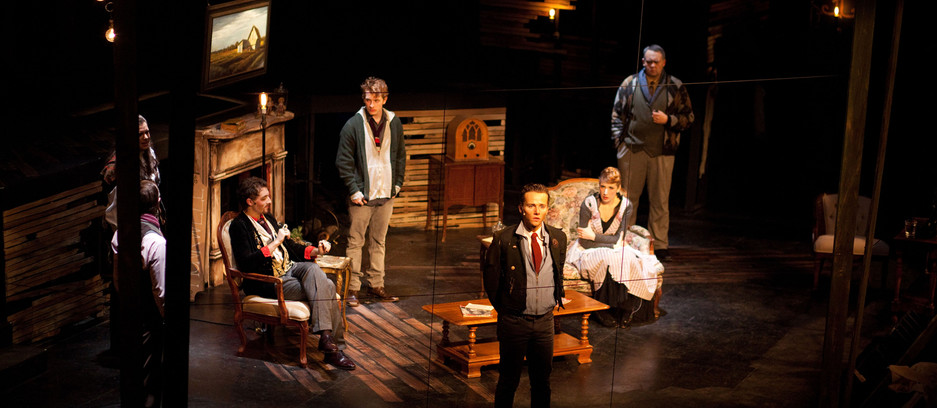 """Directed by Adam Karsten Weathervane Playhouse, Newark, OH 2012  44th Season Has it All """"...a revival of The Mousetrap, the classic Agatha Christie mystery, is turned inside out but adds yet another level of mystery."""" --Columbus, Dispatch"""