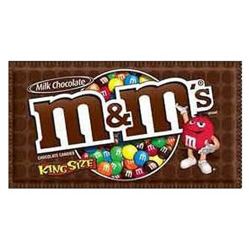 M&M's Milk Chocolate King Size 6/24ct