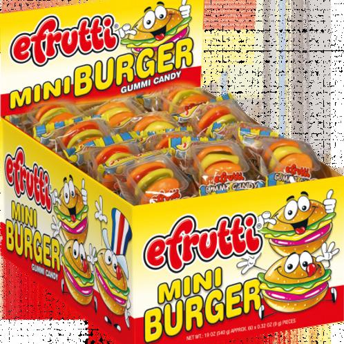 Efrutti Mini Burger 1/6/60's #501