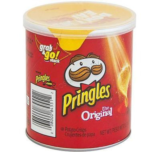 Pringles Chips Original 12/1.41oz. SS Can