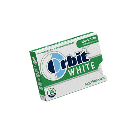 Orbit White Spearmint 8x18 CT