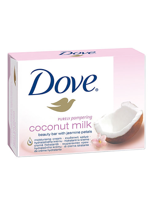 Dove Cream Bar Soap Coconut Milk 100 g 1/48 Ct