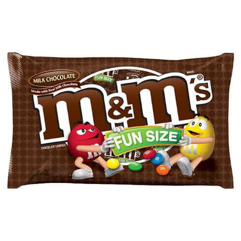 M&M's Milk Chocolate Fun Size 24/6 PK