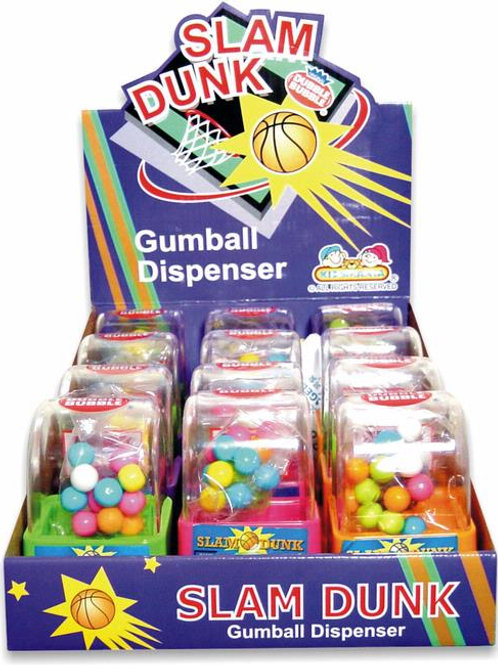 Kidsmania #103 Slam Dunk Gumball Dispenser 12/12's